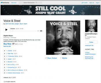 Still Cool @ bandcamp, Voice & Steel